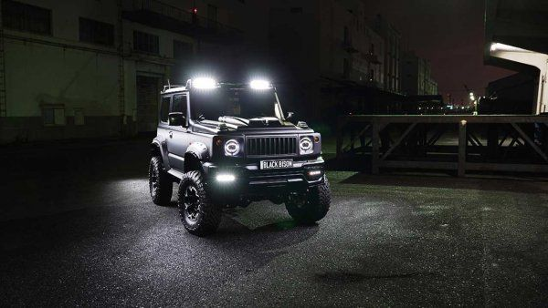 Suzuki Jimny брутальний і шикарний