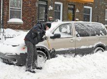 Как выбраться из снега